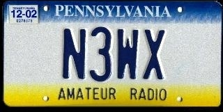 Ron's license plate